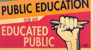 Public education for an educated public