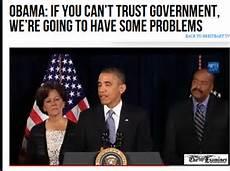 Trusting Washington