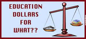 Education Dollars - scales