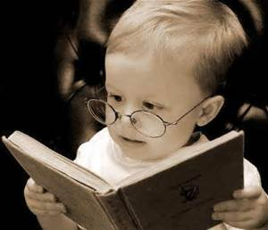 reader - child with glasses
