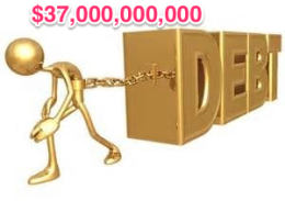 Debt - $37 billion