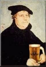 Martin Luther and beer