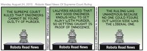 Dilbert Robots Read News
